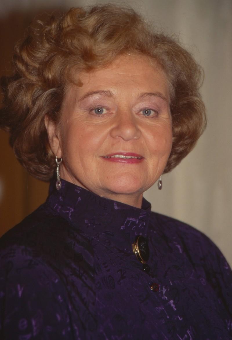 Schauspielerin Ursula Hinrichs spielte Oma Brendel,
