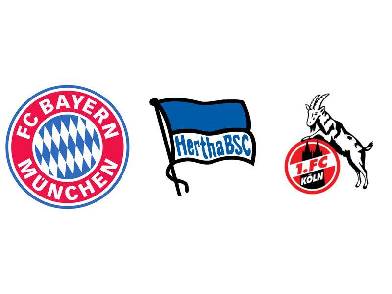 Fussballwappen Fruher Und Heute