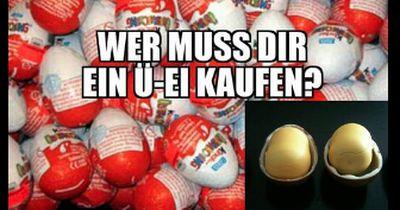 Warum sind die Eier im Ü-Ei gelb?