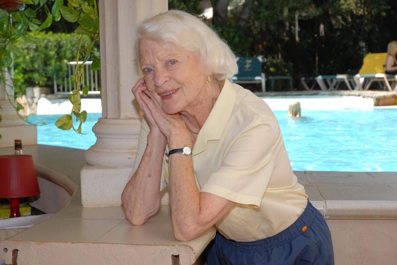 Elisabeth Wiedemann verstarb 2015.