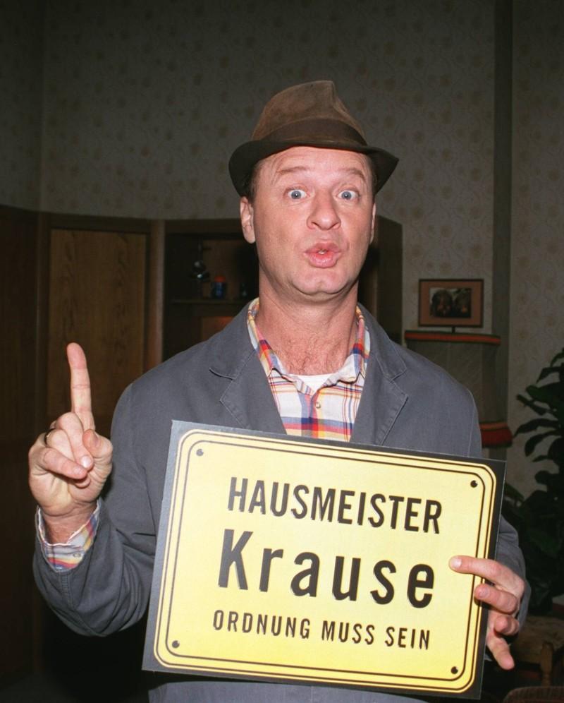 """Die Serie """"Hausmeister Krause"""" war bis 2008 sehr erfolgreich."""