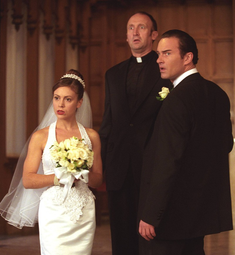 """Die """"Charmed""""-Darstellerin sah schon damals zu ihrer Serien-Hochzeit verdammt gut aus."""