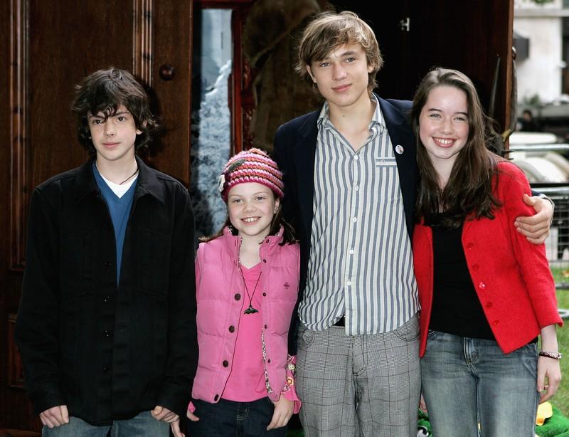 """Der junge Cast von """"Die Chroniken von Narnia"""" beinhaltete auch Georgie Henley"""