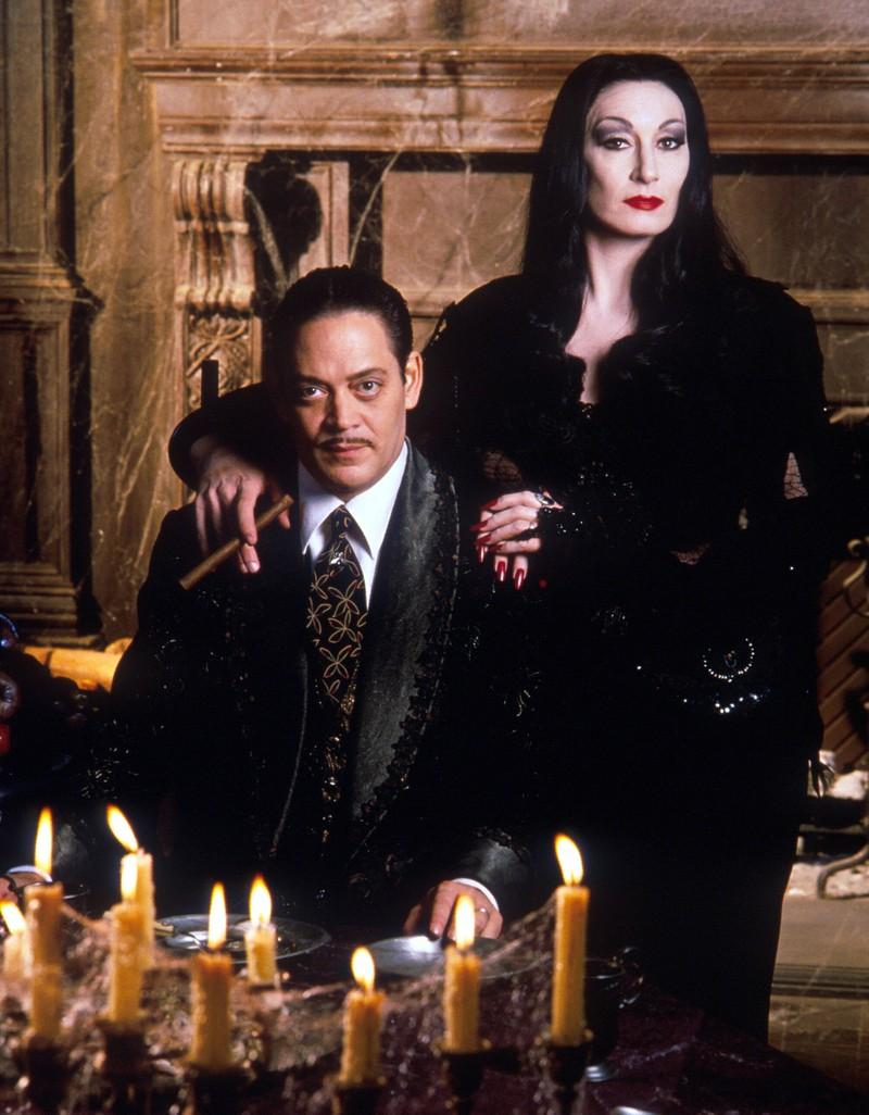 """Die Familienoberhäupter der """"Addams Family"""" waren ineinander verliebt."""