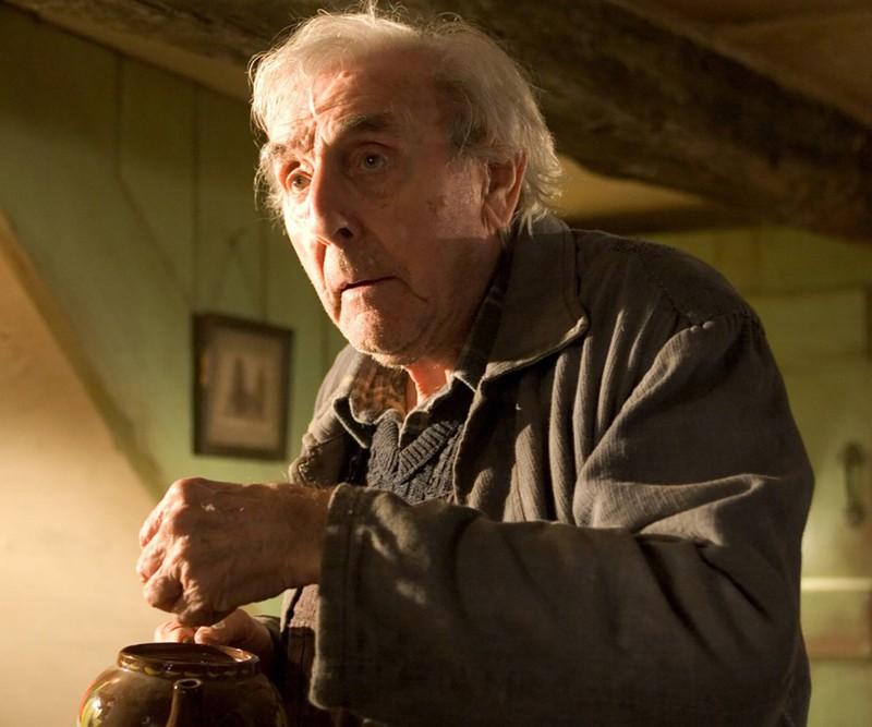"""Eric Sykes spielte einen Muggel in """"Harry Potter"""" und den Gärtner der Familie Riddle."""