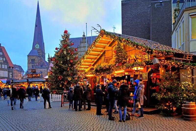 Für Weihnachtsmärkte musste man früher auch kein Geld bezahlen.