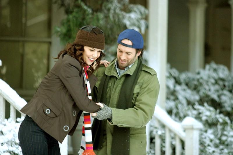 """Am Set von """"Gilmore Girls"""" spielten Lauren Graham und Scott Patterson das Liebespaar """"Luke"""" und """"Lorelai"""", doch im echten Leben funkte es gar nicht"""