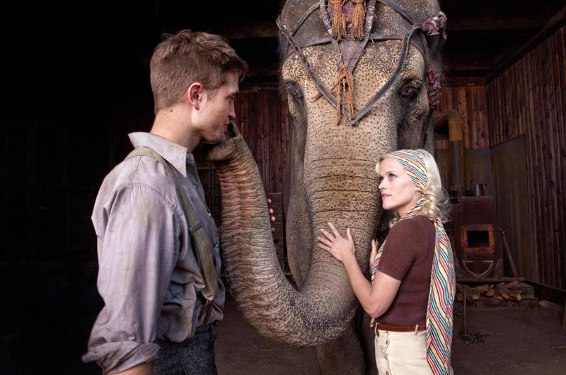 """Am Set von """"Wasser für die Elefanten"""" konnten die Zuschauer auch keine Chemie zwischen Reese Witherspoon und Robert Pattinson spüren"""