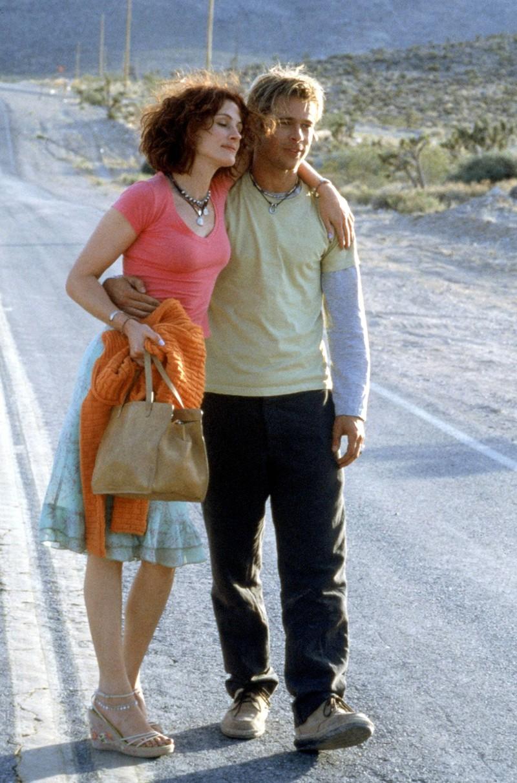 Auch Julia Roberts und Brad Pitt spielten mal ein Liebespaar. Als Traumpaar kamen sie im Film aber nicht rüber