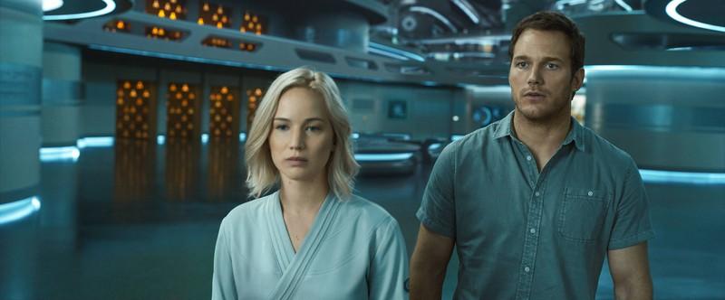 Chris Pratt und Jennifer Lawrence spielten eigentlich ein Liebespaar.