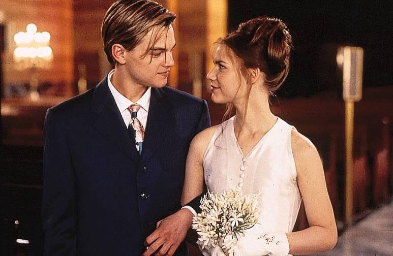"""Claire Danes und Leonardo DiCaprio spielten in """"Romeo und Julia"""" das bekannteste Liebespaar der Welt, doch privat haben sich die Schauspieler überhaupt nicht verstanden"""