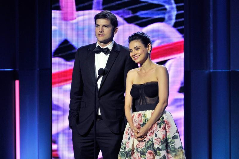 Ashton und Mila waren nicht nur im TV auch ein Paar. Im echten Leben sind sie mittlerweile verheiratet