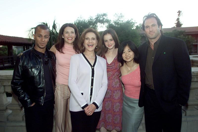Die Gilmore Girls verzückten uns 7 Staffeln lang, wir können nicht glauben, dass das TV Paar Lorelai und Luke sich in Wahrheit nicht leiden können
