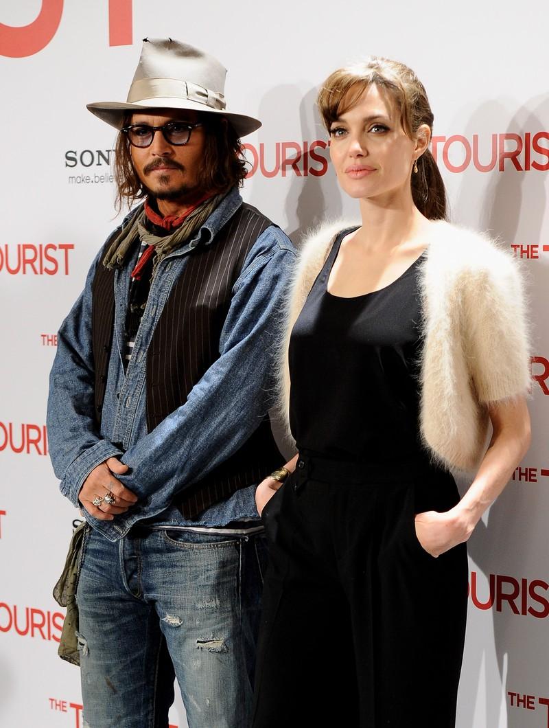 Ein weiteres Paar, was im TV gut funktionierte, sich aber privat nicht gut verstand, sind Angelina Jolie und Jonny Depp