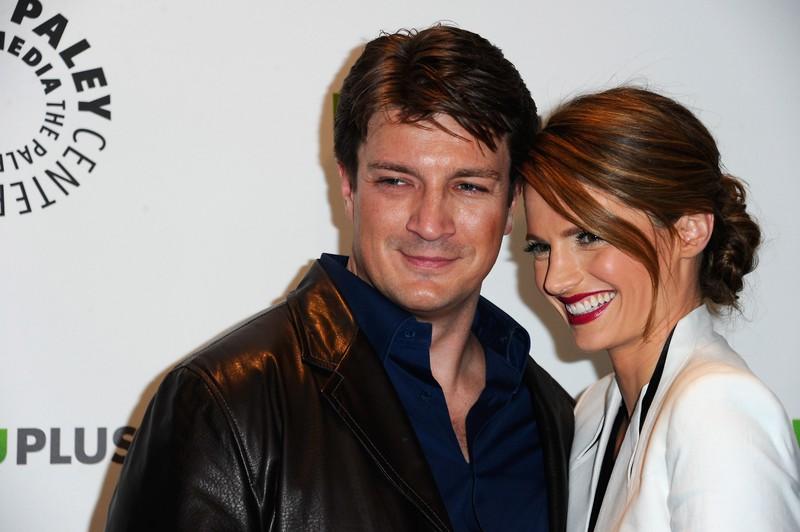 Ein weiteres TV Paar, was sich nicht leiden konnten: Nathan Fillion and Stana Katic
