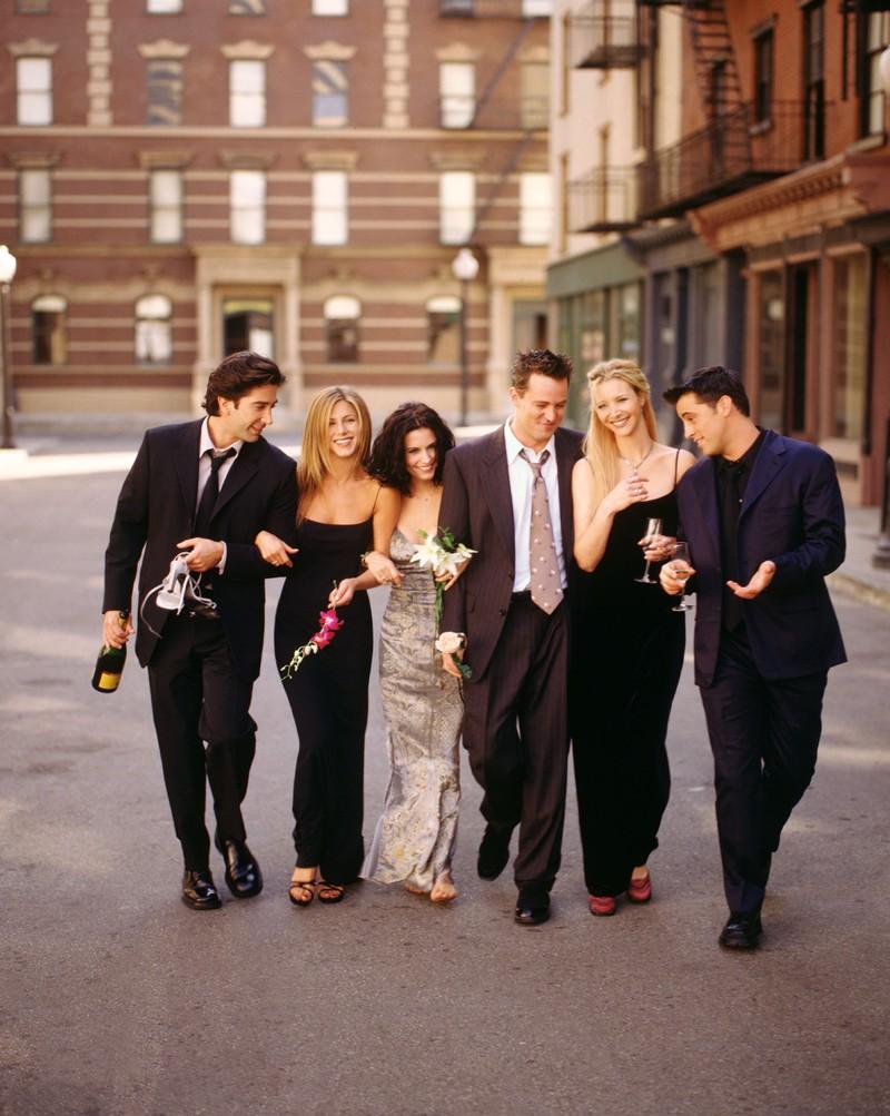 Unsere liebsten TV Paare vom Friends Cast