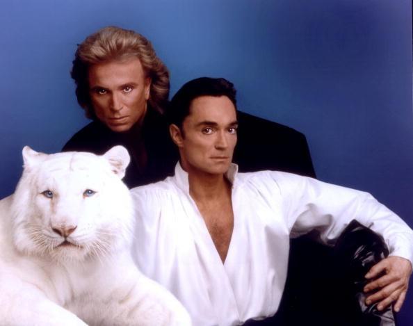 Siegfried und Roy machten mit ihrer Tiger-Magie-Show Geschichte in Las Vegas.