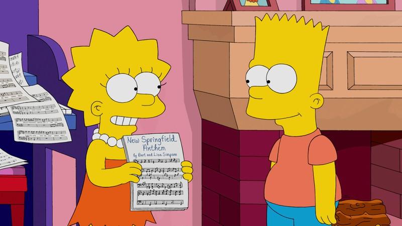 Bart ist vor allem zu seiner Schwester Lisa häufig sehr gemein.