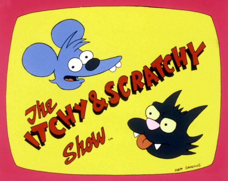 Itchy und Scratchy ist in der Simpsons-Welt die beliebteste TV-Show.