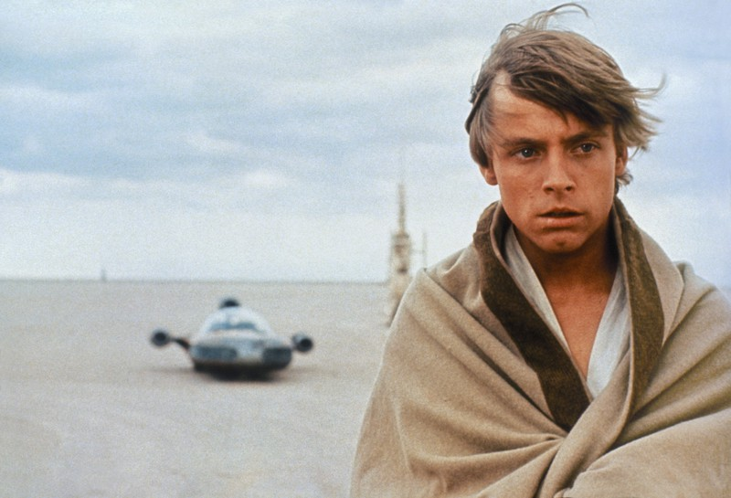 "Mark Hamill als Luke Skywalker in ""Star Wars"""
