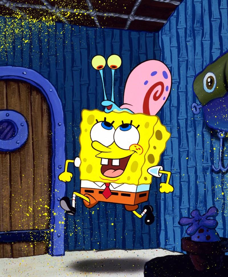 """""""Spongebob Schwammkopf"""" hat viele Witze, die Kinder wohl nicht so wirklich verstehen."""
