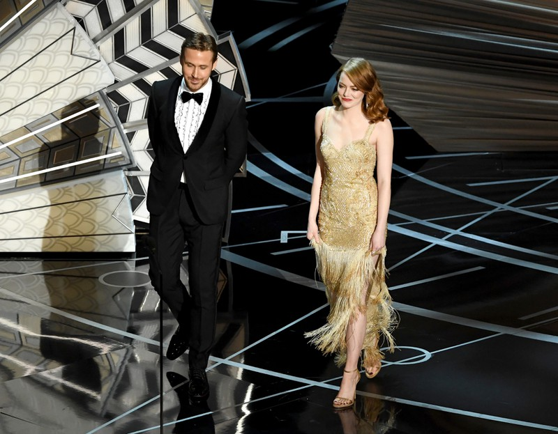 Emma Stone und Ryan Gosling sind zusammen in La La Land zu sehen.