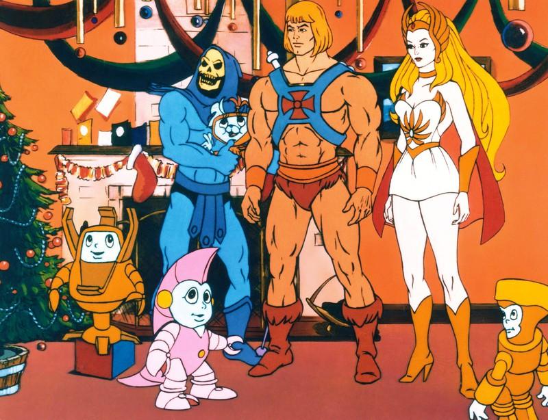Skeletor ist der Bösewicht bei He-Man.