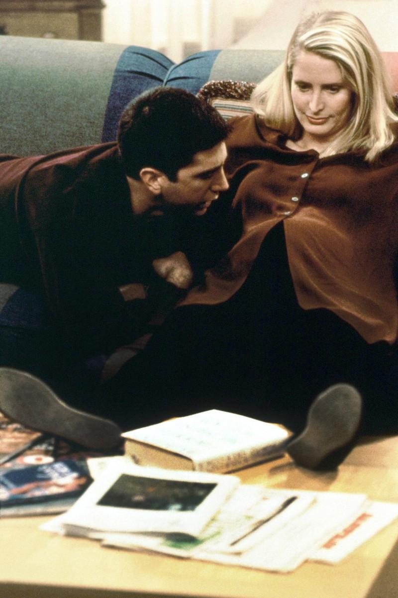 Carol war die Ex-Frau von Ross