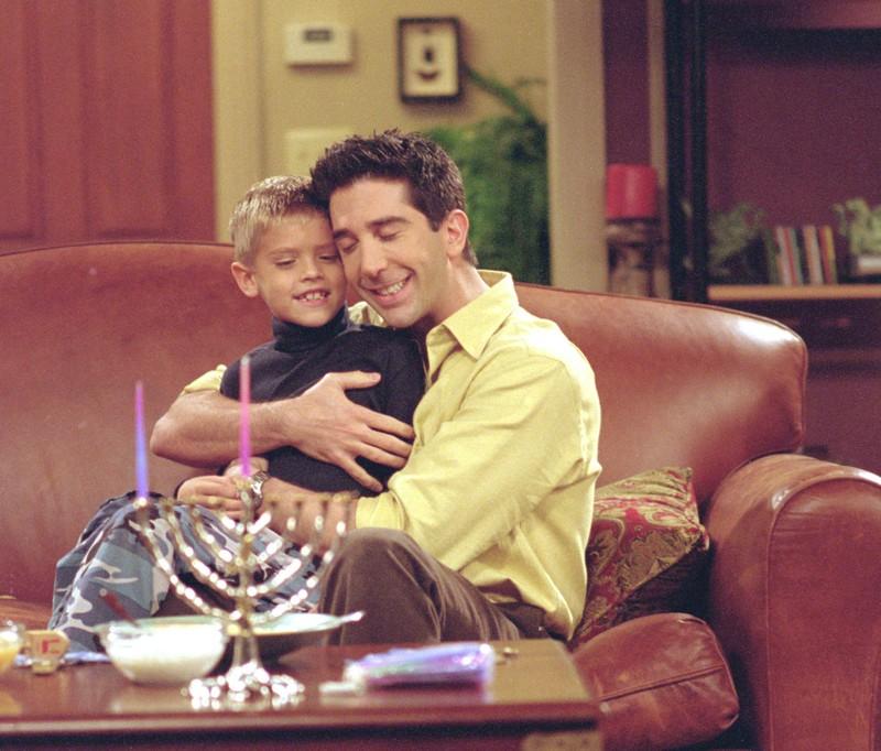 Der kleine Ben war in Friends ein Lieblingscharakter
