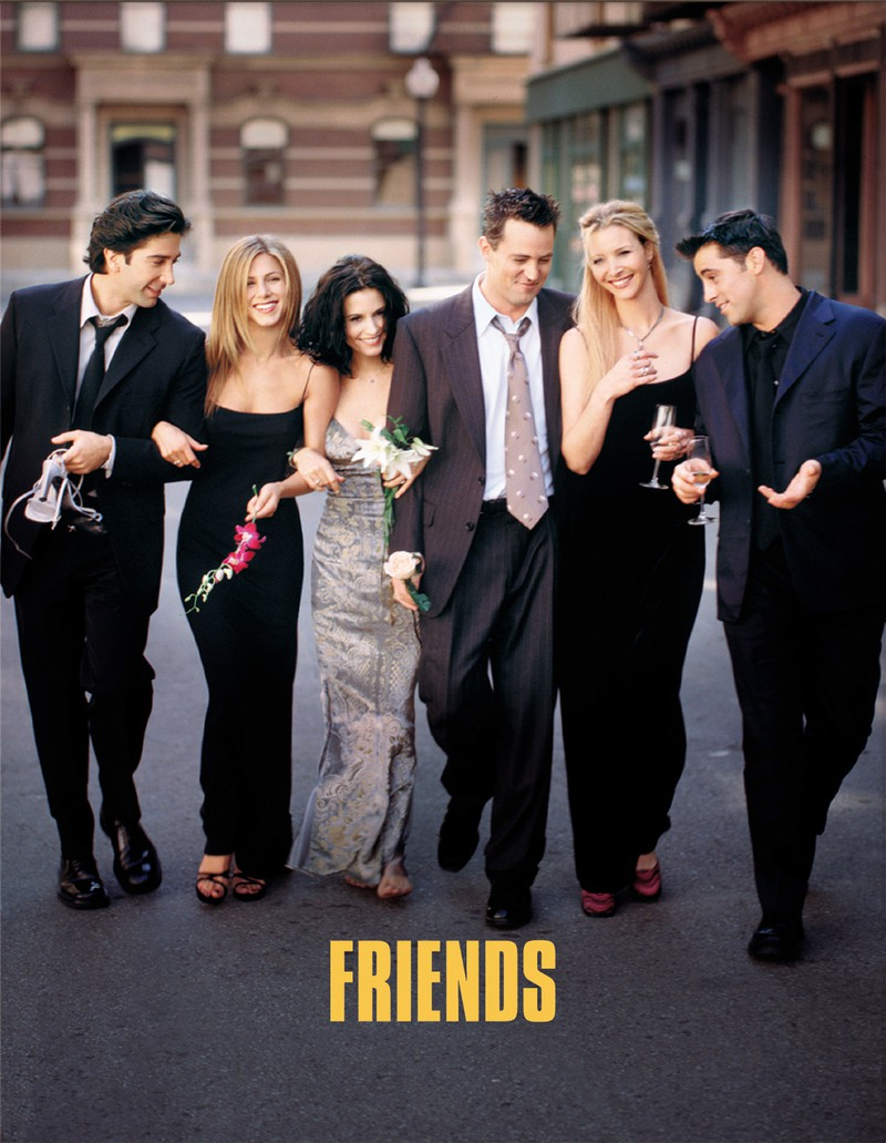 Friends war eine erfolgreiche Kultserie