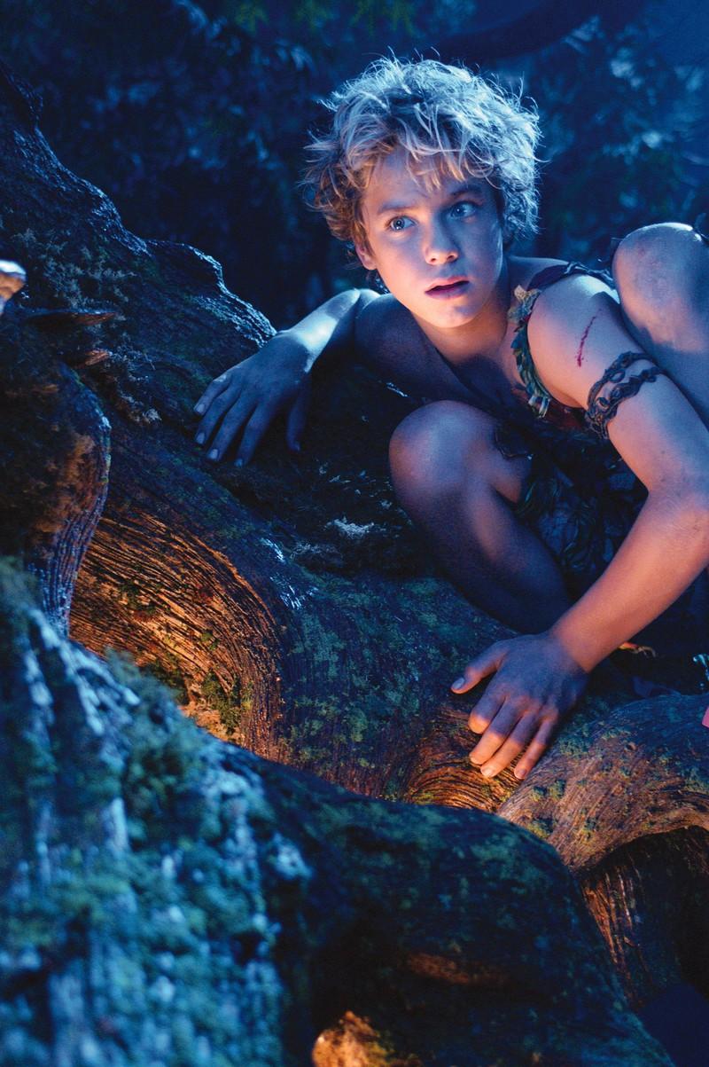"Jeremy Sumpter in seiner Kinderrolle als ""Peter Pan""."