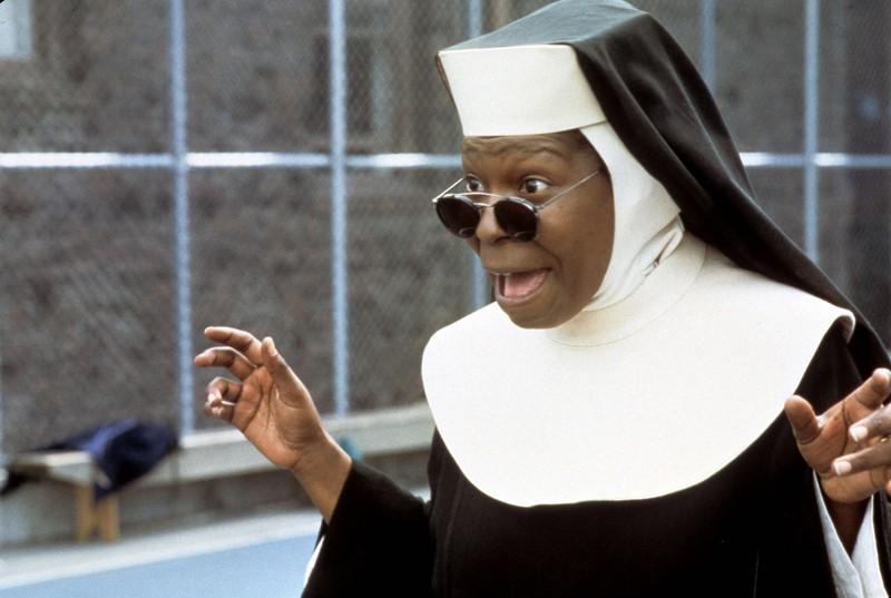 Sister Act aus 1992 war ein voller Erflog.