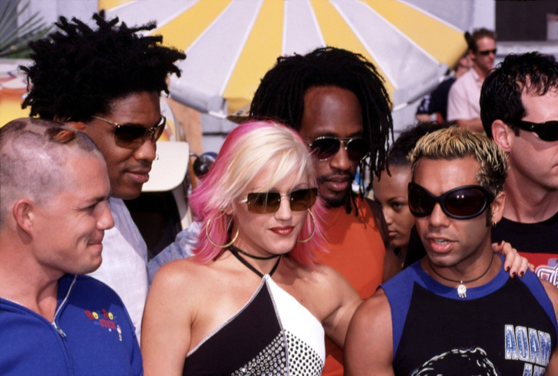 """Dieses Bild zeigt die Band """"No Doubt"""" aus den 90ern."""
