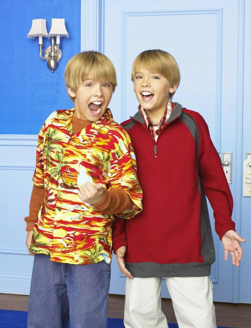 Cole und Dylan Sprouse sind Kinderstars.