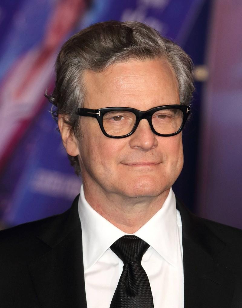 Schauspieler Colin Firth ist mittlerweile ergraut.