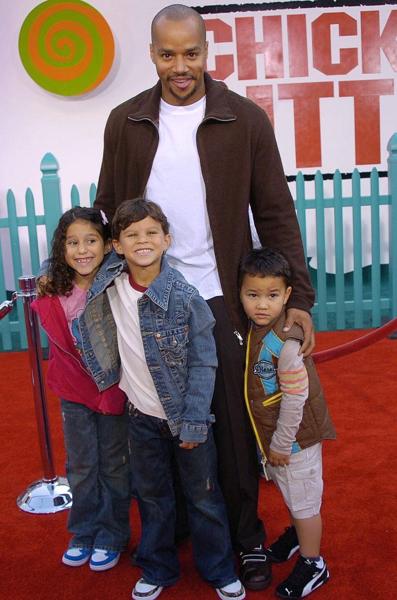 Insgesamt hat der Darsteller fünf Kinder.