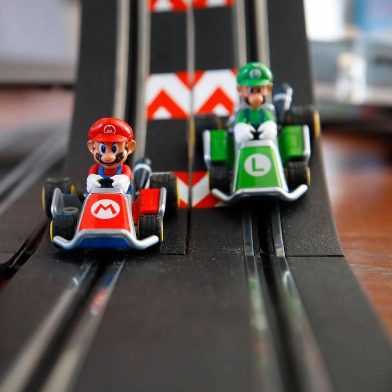 Selbst bei Mario Kart haben Kinder Angst.