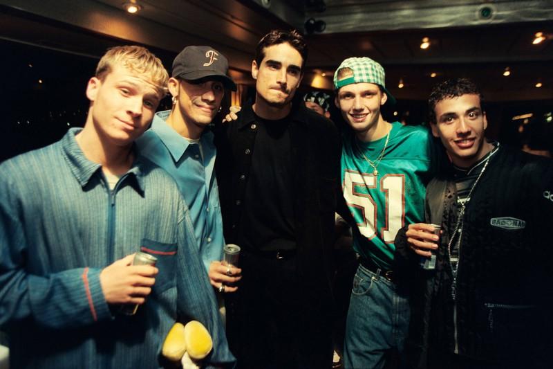 Die Backstreet Boys im Jahr 1996.