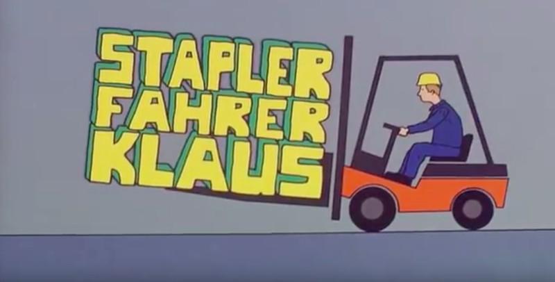 """""""Gabelstaplerfahrer Klaus"""": Wer erinnert sich noch an den Kultlehrfilm?"""
