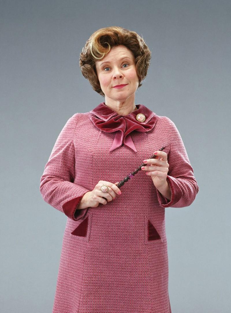 """Die Filmfigur Dolores Umbridge in """"Harry Potter"""""""