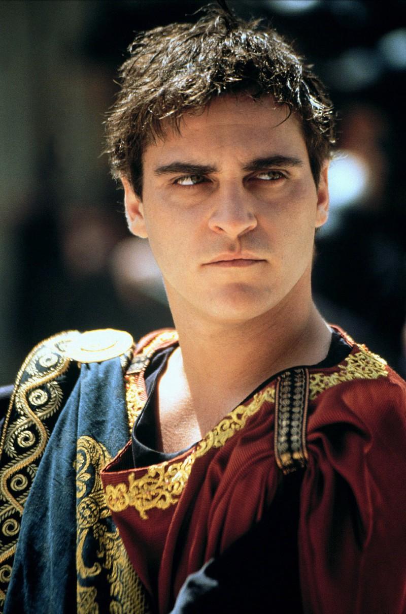 "Joaquin Phoenix spielt ""Commodus"""