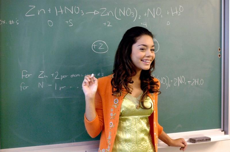 Vanessa Hudgens in High School Musical