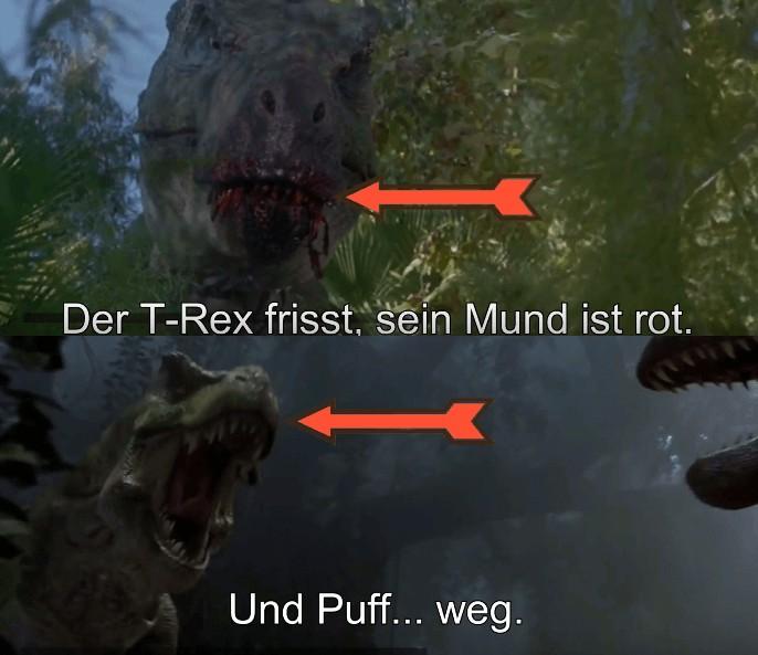 Filmfehler Jurassic Park