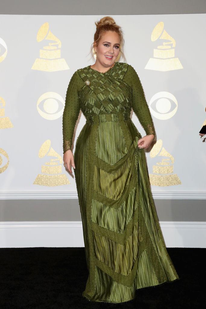 Dieses Bild zeigt Sängerin Adele heute.