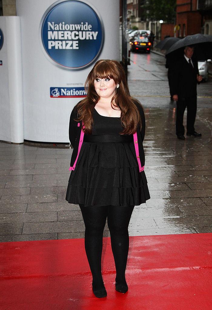 Dieses Bild zeigt Sängerin Adele.