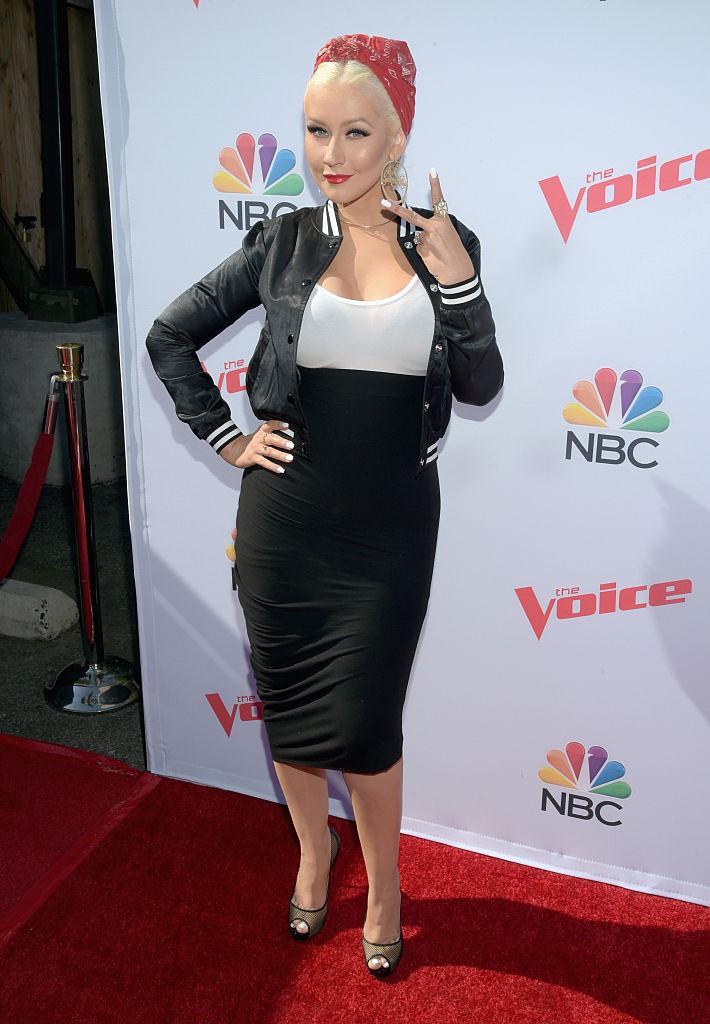 Dieses Bild zeigt Sängerin Christina Aguilera.