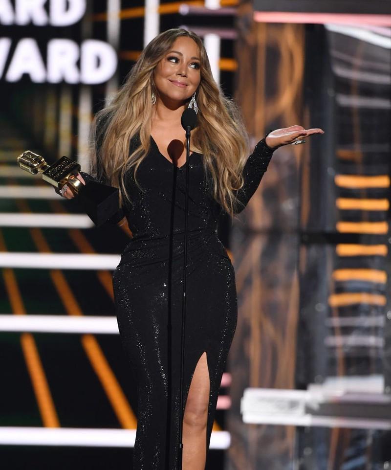 Dieses Bild zeigt Sängerin Mariah Carey.
