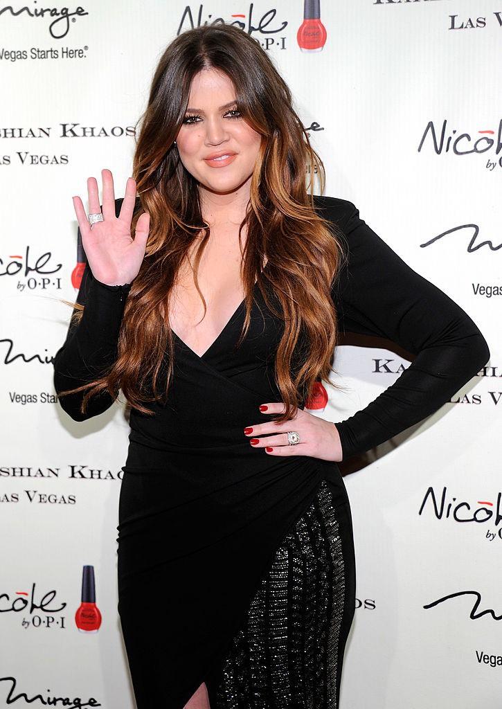 Khloe Kardashian auf dem Roten Teppich