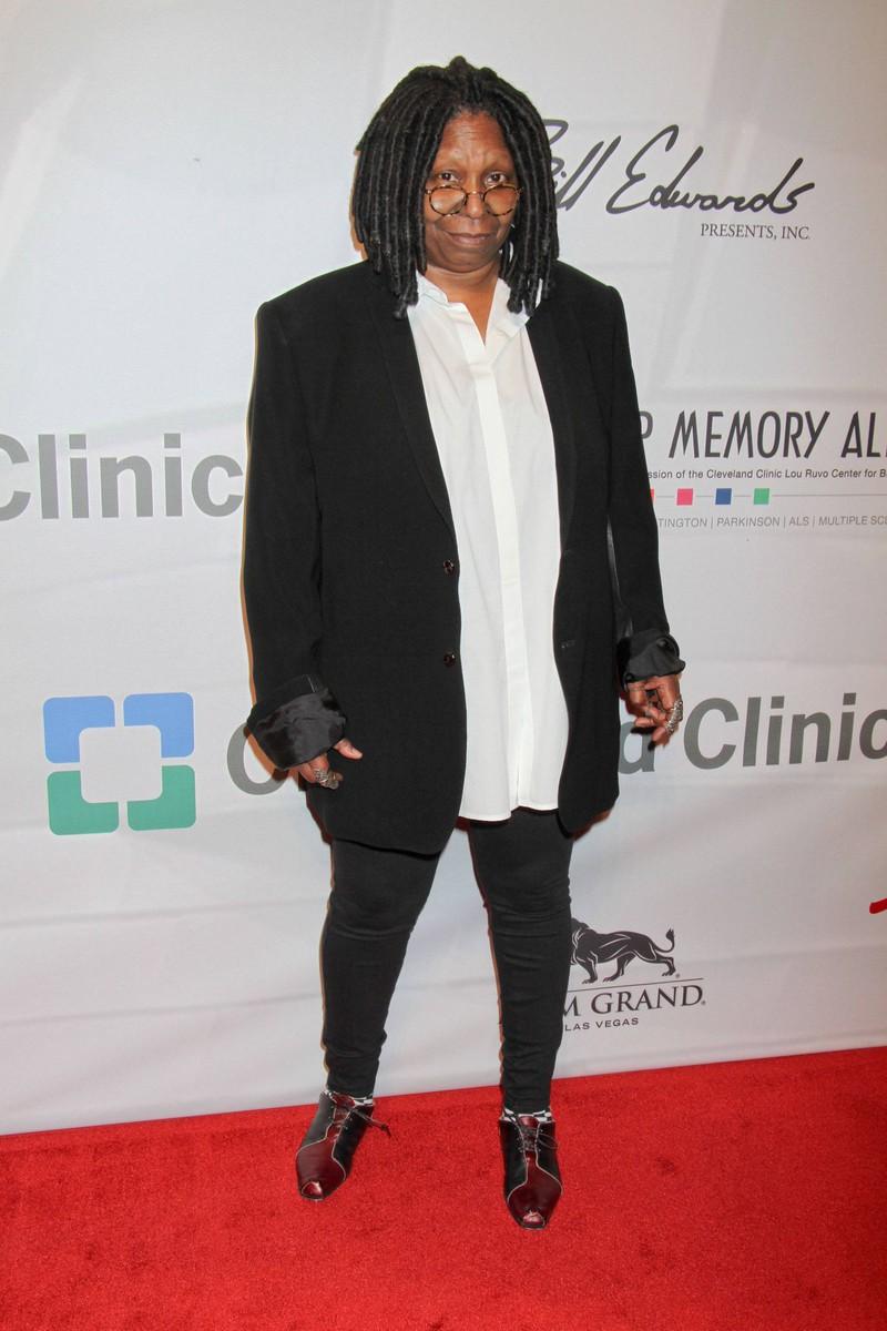 Whoopi Goldberg heißt in Wirklichkeit Caryn Elaine Johnson.