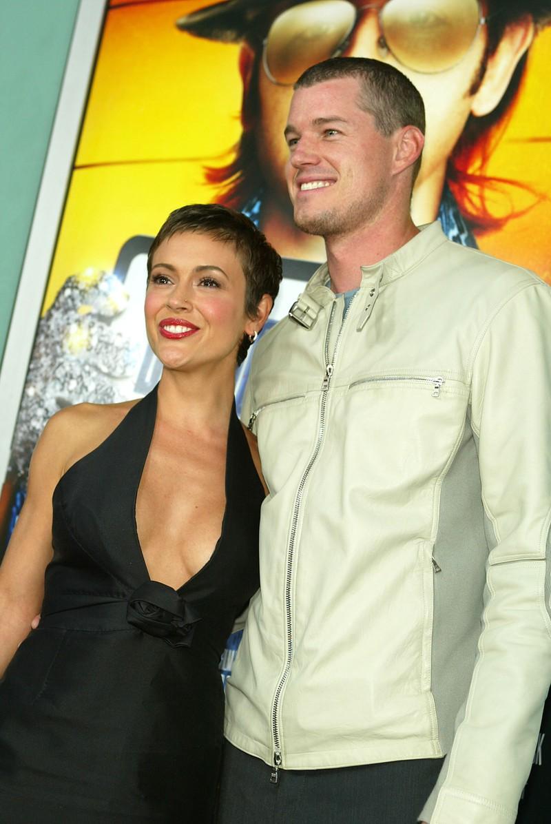 Auf dem Bild sieht man Alyssa Milano und Eric Dane, die früher mal ein Paar waren.
